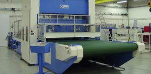 flexible conveyor belt / PET / process / high-resistance