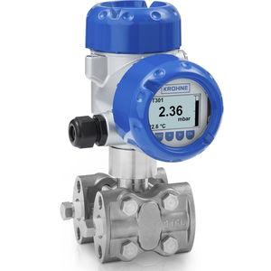differential pressure transmitter / vacuum / ceramic / piezoresistive