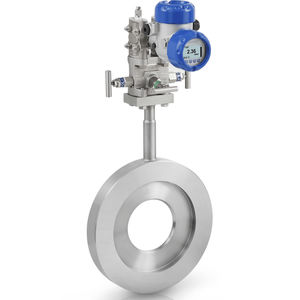 differential pressure flow meter / for liquids / for gas / compact