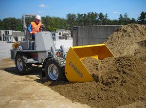 rubber-tired dumper / diesel / self-loading