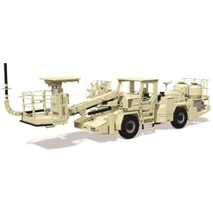 explosives transport and loading (ANFO) vehicle