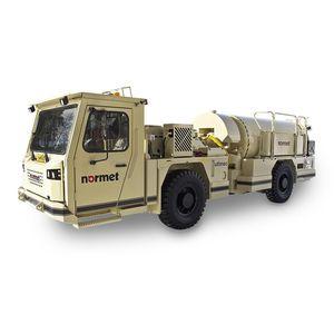 underground mining mixer truck