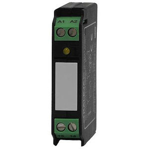 24VDC solid state relay / DC output / with LED indicator / DIN rail