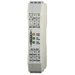 DC motor controller / brushed / analog / DIN rail mounted