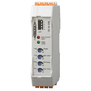 DC motor controller / brushed / DIN rail mounted / open-loop