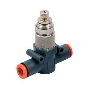 quick-release exhaust valve / needle / control / for compressed air