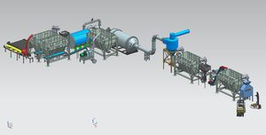 snack-pellets production line