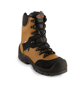 industrial use safety boots / for the petroleum industry / anti-slip / chemical protection