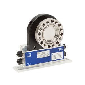 rotary torque transducer / with flange / compact