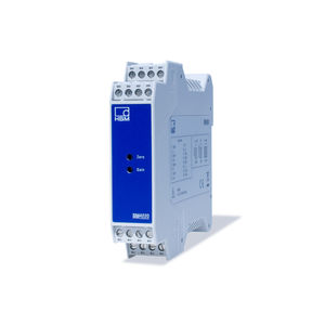 measuring amplifier / DIN rail / electronic / for strain gauge sensors