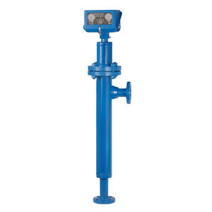 displacer level transmitter / for liquids / for storage tanks