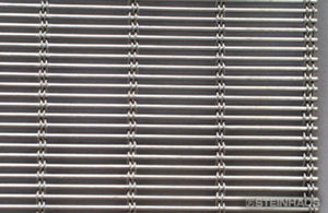 wire mesh conveyor belt / smooth / stainless steel / galvanized