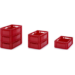 HDPE crate / storage / heavy haul / foodstuffs