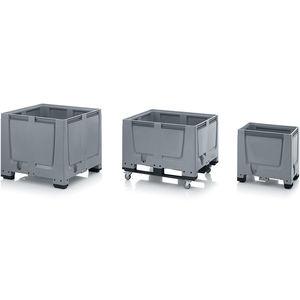 HDPE pallet box / storage / transport / for bulk materials