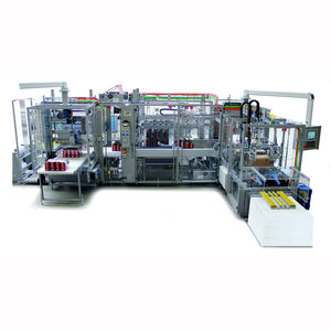 wrap-around cartoner-sleeve wrapping machine