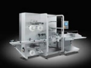 vertical cartoner-sleeve wrapping machine