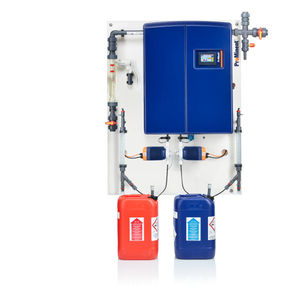 industrial chlorine dioxide generator / for water treatment / for production