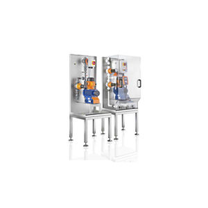 volumetric dispensing system / liquid / for chemicals