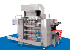 stick pack bagging machine / vertical / for tablets / for the pharmaceutical industry