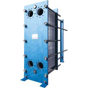gasketed plate heat exchanger / liquid/liquid / stainless steel / titanium