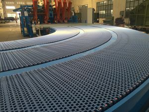 conveyor for the automotive industry