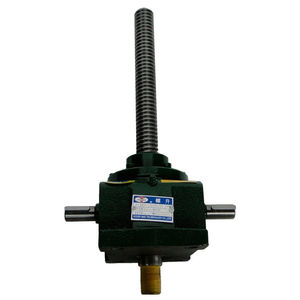 translating screw jack / rotating screw / trapezoidal screw / motorized