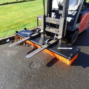 forklift truck sweeper