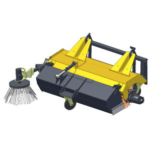 vehicle-mount sweeper / hydraulic / compact
