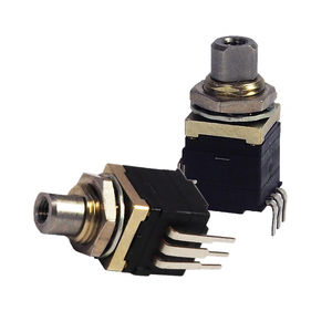 rotary switch / multipole / stainless steel / electromechanical