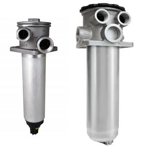 hydraulic filter / cartridge / top-mounted / suction