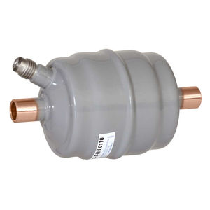 suction filter-dryer / water / desiccant / for air conditioning