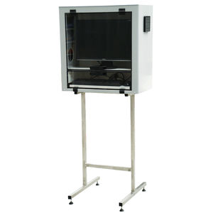 protective cabinet / free-standing / thermoplastic / for PC