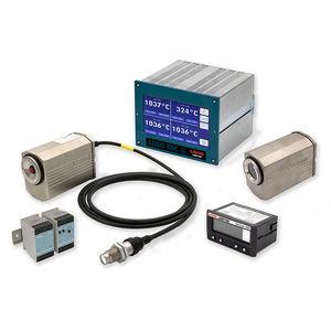 fiber optic pyrometer / digital / fixed / high-accuracy