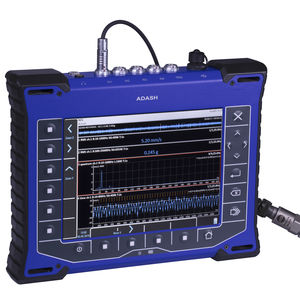 machine monitoring vibration analyzer / for balancing / for environmental measurements / portable