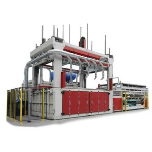 panel thermoforming machine