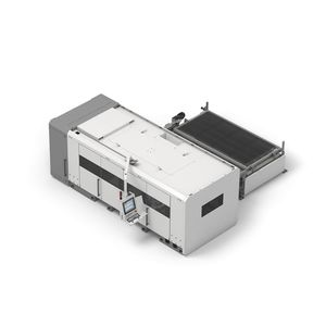 fiber laser cutting machine / for stainless steel / for aluminum / for copper