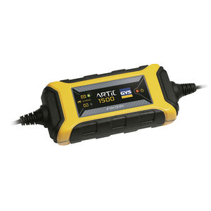 lead-acid battery charger / automatic / microprocessor-controlled / high-speed