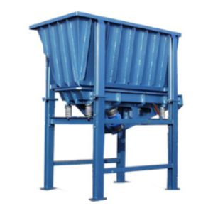horizontal silo / for recycling