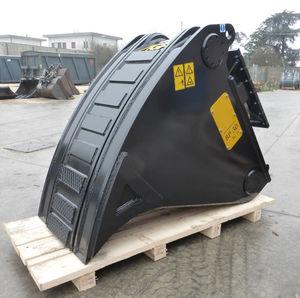 standard bucket / for excavators / tilting / rotating