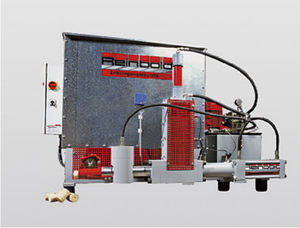 wood briquette press / hydraulic