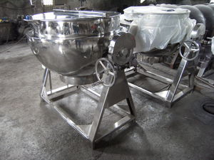 boiling pan for the pharmaceutical industry