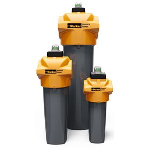 compressed air filter / cartridge / high-efficiency / process