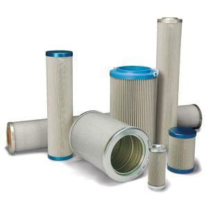 water filter cartridge / oil / fine / steel