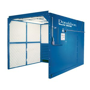 open paint booth / for parts / filter / manual