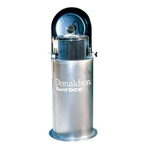cartridge filter housing / for compressed air / stainless steel / high-performance