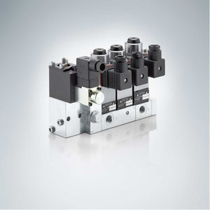 poppet hydraulic directional control valve / solenoid-operated / 4/3-way / 3/2-way
