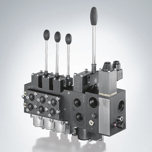 spool hydraulic directional control valve / manual / electro-hydraulic / proportional