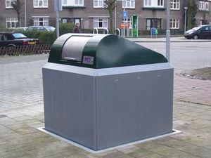 plastic underground bin