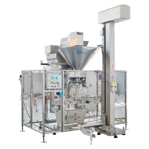 volumetric filler / for pasty products / meat / for viscous products