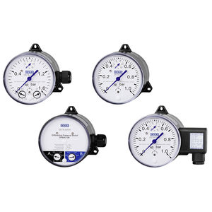 dial pressure gauge / differential pressure / process / rugged